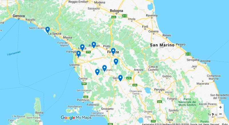 Toscanan Hyvinvointiviikko Ja Cinque Terre Adrian Matkat